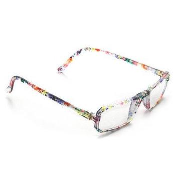 Dr. Dean Edell Colorful Half-Eye Reader, Multi-Color, +3.00