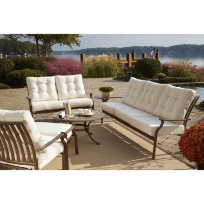 Panama Jack Island Breeze 6-Piece Metal Patio Conversation Furniture