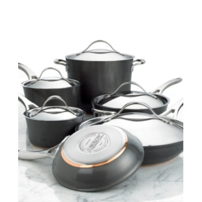 Anolon Nouvelle Copper 11-pc. Cookware Set