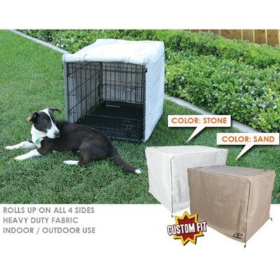 Animated Pet Crate Cover for Petmate Pet Home Deluxe Edition Wire Kennel Depth: 48