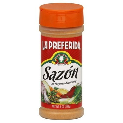 La Preferida Sazon Seasoning, 8-Ounce (Pack of 12)