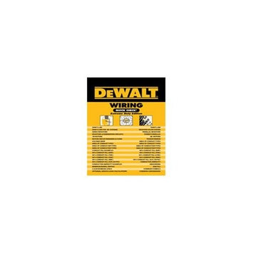 Cengage Learning 9781111128753 DeWalt Quick Check Wiring Book 12 Pack