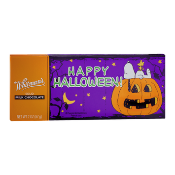 Whitman's Happy Halloween! Solid Milk Chocolate