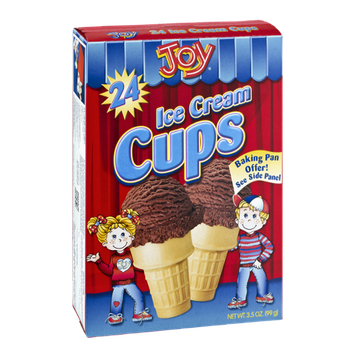Joy Ice Cream Cups