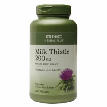 Gnc GNC Herbal Plus Milk Thistle 200 MG