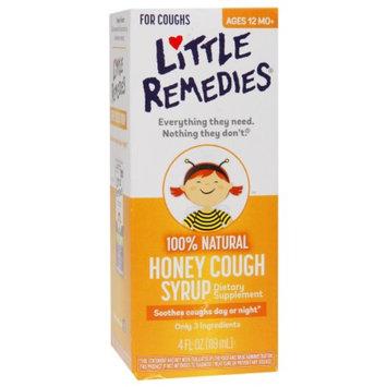 Little Remedies 100% Natural Cough Syrup, Honey, 4 fl oz