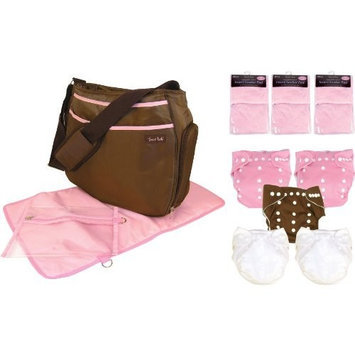 Trend Lab Cloth Diaper Starter Pack, Girl (Discontinued by Manufacturer)