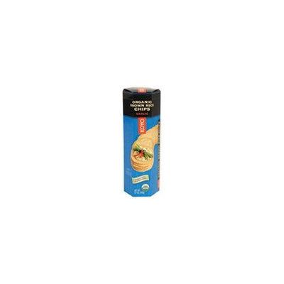 Koyo Garlic Organic Brown Rice Chips -- 3.7 oz