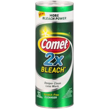 Comet 2X Bleach Cleanser, 21 oz
