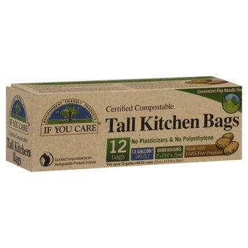 If You Care Tall Kitchen Bags 12ea