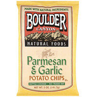 Boulder Canyon Natural Foods Kettle Cooked Parmesan & Garlic Potato Chips