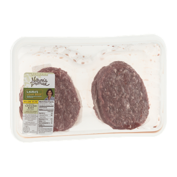 Nature's Promise Laura's Lean All Natural Ground Beef 92% Lean