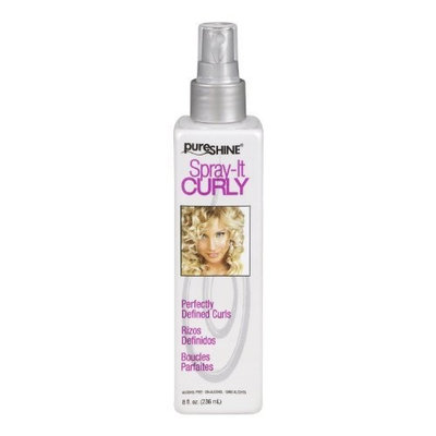 Pure Shine Spray It Curly 8oz