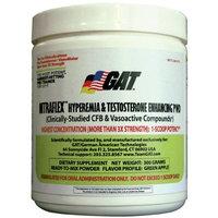 Gat Nitraflex GAT Clinically Tested Nitraflex Testosterone Enhancing Pre Workout, Green Apple,300 Gram