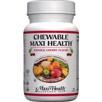 Maxi Chewable Maxi Health, Cherry, 90-Count