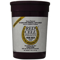 Horse Health FARNAM 100506701 Red Cell Pellets Pet Supplement, 4-Pound
