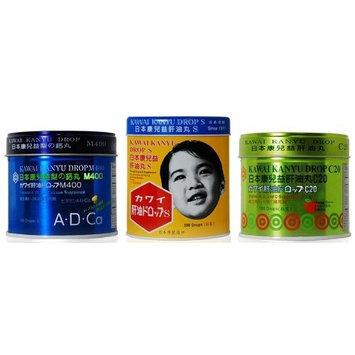 Kawai Kanyu Vitamin Drops M400 - 180 Vitamin A, D, and Ca Drops Supplement