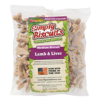 K9 Granola Factory Simply Biscuits Lamb and Rice Dog Treat Medium 1lb