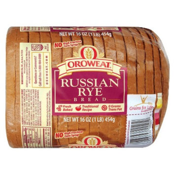Oroweat Russian Rye Bread 16 oz