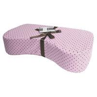 Kushies Nursing Pillow, Pink Polka Dots