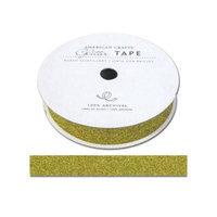 American Crafts ACGT96061 Glitter Paper Tape 3 YardsSpoolSunflower .625 in.