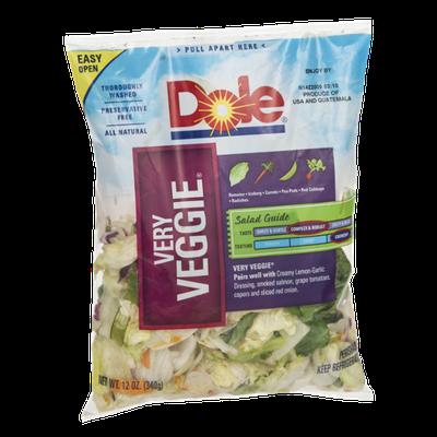 Dole Salad Very Veggie