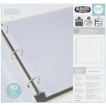 Hiller Industries We R Memory Keepers Ring Page Protectors, 12