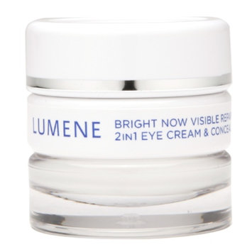 Lumene Bright Now Visible Repair 2in1 Eye Cream & Concealer, Light-Medium, .57 fl oz