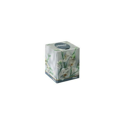Kimberly-Clark 21269 KLEENEX Boutique Tissue  Floral Box  2-Ply  White  95 Tissues/Box  36 Boxes/CT