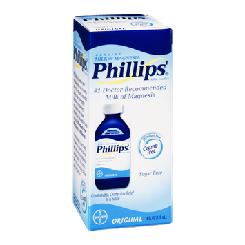 Phillips' Milk of Magnesia Saline Laxative Original Sugar Free