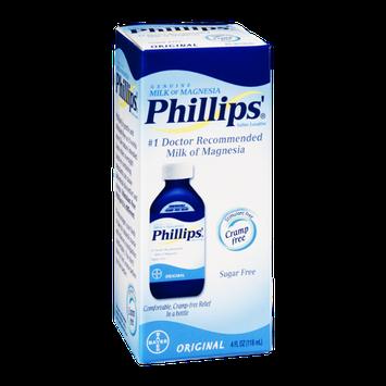 Phillips' Milk of Magnesia Saline Laxative Original Sugar Free