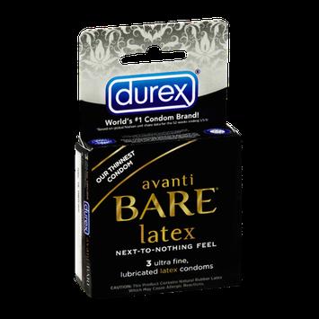 Durex Avanti Bare Latex Condoms - 3 CT
