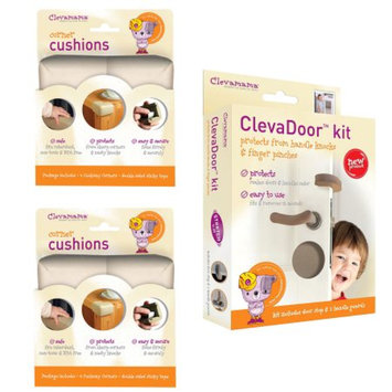 Clevamama Baby Home Safety Corner Guards & Door Cushions Set, 1 ea