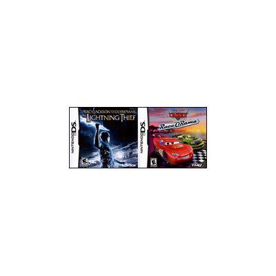 Cars Race O Rama and Percy Jackson Lightning Thief 2Pack