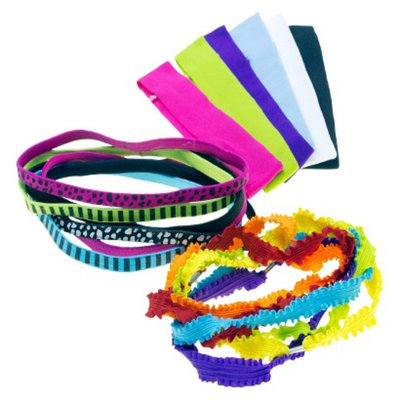 Gimme Clips Stretchy Headbands - 18 Count