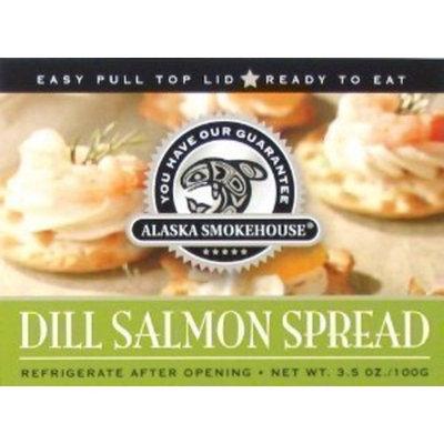 Alaska Smokehouse Dill Salmon Spread Serving Design, 3.5 Ounce Box