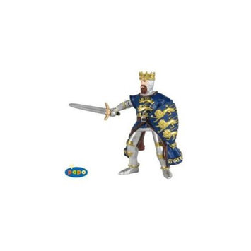 Papo 39329 King Richard Blue Medieval Toy Figure