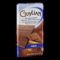 Guylian No Sugar Added Belgian Milk Chocolate Bar