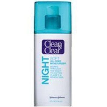 Clean & Clear® Soft Night Oil-Free Moisturizer