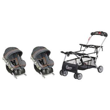 Baby Trend Snap 'N Go Double W/ Flex Loc Car Seat, 1 ea