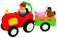 Kiddieland Press n' Learn Activity Tractor