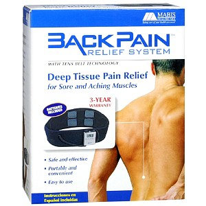 Mabis Back Pain Relief System with TENS Belt Technology