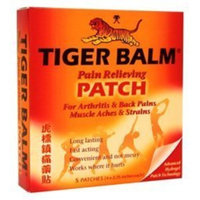Tiger Balm Pain Relieving Patches 4x2.75 in - 5 Patches