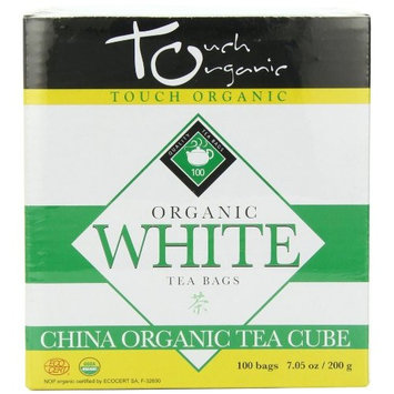 Touch Organic White Tea Cube, 100 Count, 7.05-Ounce Boxes (Pack of 4)