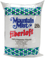 Mountain Mist Fiber 51064 Fiberloft Polyester Stuffing-32 Ounces FOB -MI