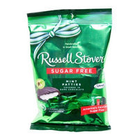 Russell Stover Sugar Free Peg Bag Candy, NougieNuttyChews, 3 oz. bag