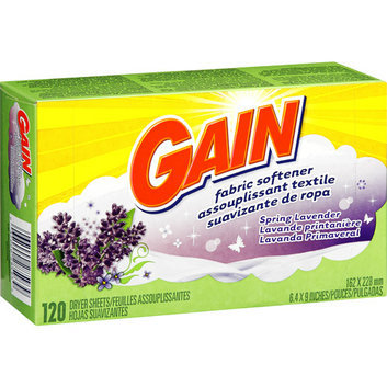 Gain Spring Lavender Fabric Softener Dryer Sheets