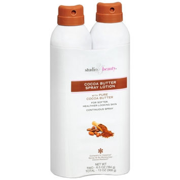 Studio 35 Beauty Cocoa Butter Spray Lotion, 6 oz