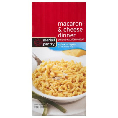 market pantry Market Pantry Spiral Shapes Macaroni & Cheese Dinner 5.5 oz