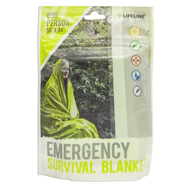 Lifeline Emergency & Survival Lifeline 1 Person Emergency Survival Blanket